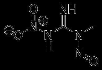 Methylnitronitrosoguanidine - Image: MNNG skeletal