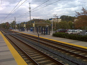 MTA Maryland Light Rail North Linthicum Station.jpg