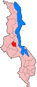 Location of Ntchisi District in Malawi