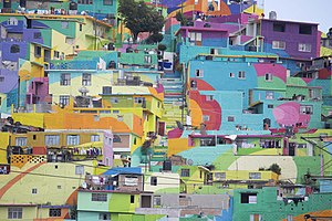 Came Here for Love - Las Palmitas neighbourhood in Pachuca, México where the video was filmed.
