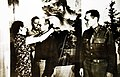 Madame Chiang Kai-shek awarding the Military Order of China to BG James H. Doolittle, 1942 (24125985560).jpg