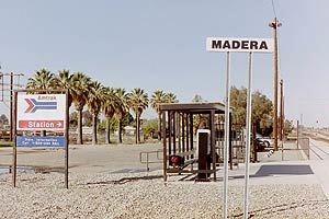 Madera station (Amtrak) - Former Storey (Madera) station, December 2001