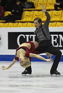 Keiffer Hubbell American ice dancer