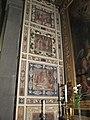 Madonna dell'umiltà, pistoia, stucchi 01.JPG