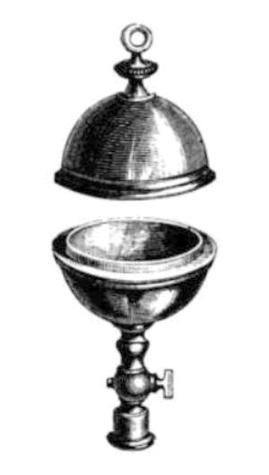 Magdeburg hemispheres - Small 4 in. hemispheres, 1870s