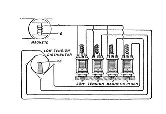 Low tension coil - Multi-cylinder engine, with individual coils for each cylinder