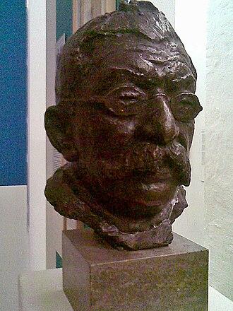 Magnus Hirschfeld - Bust of Magnus Hirschfeld in the Schwules Museum, Berlin