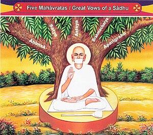 Jain monasticism - The five Great Vows of Jain ascetics