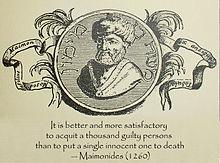 Maimonides - Wikiquote