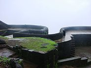 Main Door shape of Raigad fort