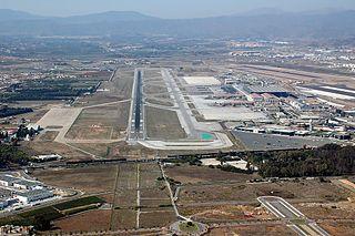 International airport serving Costa del Sol, Malaga, Spain