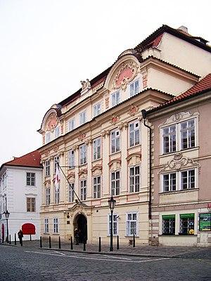 Czech Republic–Japan relations - Japanese embassy in Prague