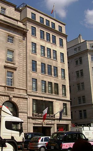 High Commission of Malta in the United Kingdom - Image: Malta High Commission in London