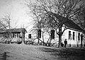 Man, village, barn for storing maize Fortepan 12606.jpg