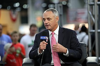 Rob Manfred - Manfred at the 2015 Major League Baseball All-Star Game