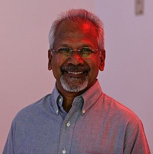 Gopala Ratnam Subramaniam - (born 2 June 1956), commonly known by his screen name Mani Ratnam, is an Indian film director, screenwriter, and producer who predominantly works in Tamil cinema. Ratnam has won six National Film Awards, four Filmfare Awards, six Filmfare Awards South, and numerous awards at various film festivals across the world. In 2002, the Government of India honoured him with the Padma Shri, acknowledging his contributions to film.