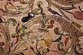 Manifattura forse fiorentina, paliotto della madonna del letto, raso, seta, oro e argento, 1601, da museo del ricamo di pistoia 04 scarabeo, uccelli, libellula.jpg