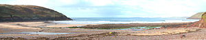 Manorbier - Manorbier beach