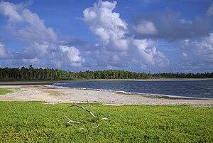 Manra Island - Image: Manra Lagoon AKK
