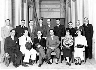 Manuel Bandeira - Manuel Bandeira (the 3rd left to right, back row)