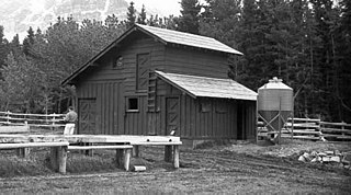 Many Glacier Barn and Bunkhouse United States historic place