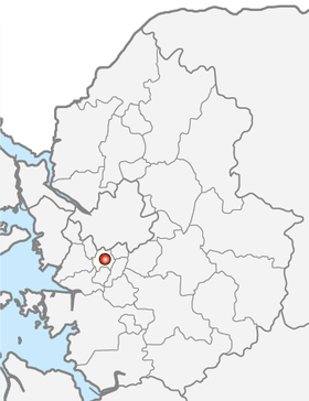 Location of Anyang
