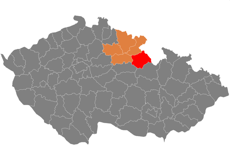 Ficheiro:Map CZ - district Rychnov.PNG