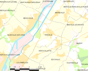 Map commune FR insee code 14530.png