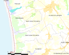 Map commune FR insee code 29252.png