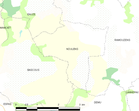 Map commune FR insee code 32299.png