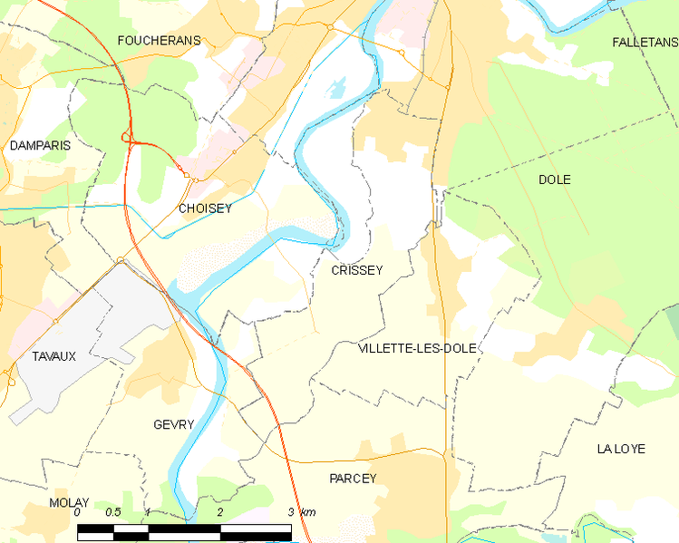 Fayl:Map commune FR insee code 39182.png