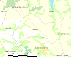 Map commune FR insee code 40082.png