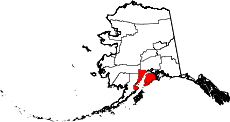 Map of Alaska highlighting Kenai Peninsula Borough.svg