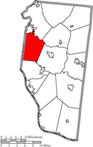 Union Township, Clermont County, Ohio - Image: Map of Clermont County Ohio Highlighting Union Township
