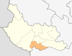 Map of Kocherinovo municipality (Kyustendil Province).png