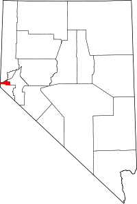 Map of Nevada highlighting Carson City.svg