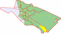 Map of Oulu highlighting Pikkarala.png