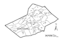 Map of Schuylkill County, Pennsylvania No Text.png
