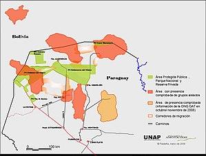 Ayoreo - Ayoreo Groups in Voluntary Isolation