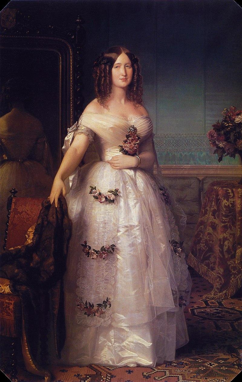 María Eugenia de Guzmán Condesa de Teba - Federico de Madrazo - 1849.jpg