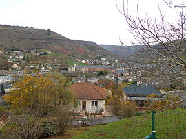 A general view of Marcillac-Vallon