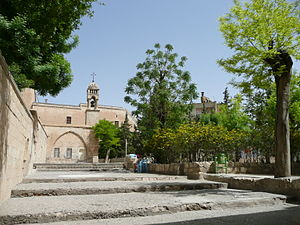 Ancient Syrian Orthodox Church, 569. Photograp...