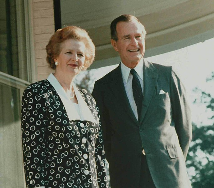 File:Margaret Thatcher poses with George H. W. Bush 1987.jpg