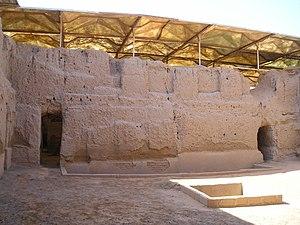 Royal Palace of Mari - The remains of the royal palace of Mari