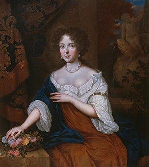 Maria Duyst van Renswoude - Portrait of Maria Duyst van Voorhout (1662-1754), by Jan van Haensbergen