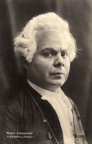 Andrea Chénier - Mario Sammarco, the first Gérard