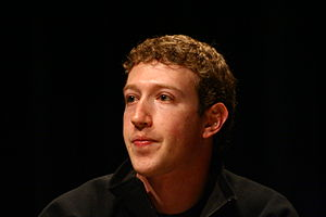 Mark Zuckerberg at South by Southwest in 2008.