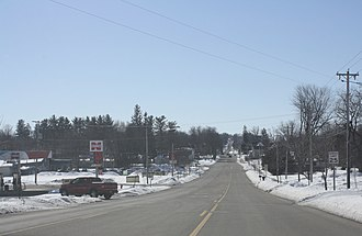 Markesan, Wisconsin - Image: Markesan Wisconsin Panorama Looking South WIS44