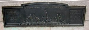 Louis Jolliet - Plaque commemorating Jolliet in Chicago.