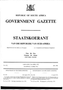 Marriage Amendment Act 1972 from Government Gazette.djvu